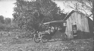 Grandpa Lloyd Bennette operated the first motorized stage coach between McMinnville and the Oregon Coast.