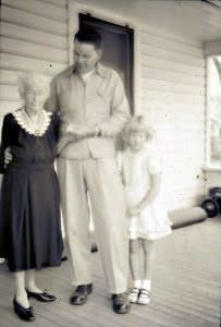 Grandma was a very proper lady barely five feet tall with tiny hands and feet and a slender waist.